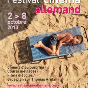 """Nur noch heute! """"Festival du cinéma allemand"""" 2.10 – 8.10.2013 inParis"""